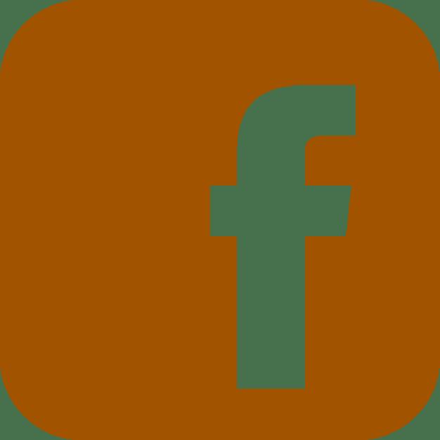 logo facebook marron